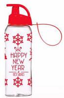 Бутылка HEREVIN Happy New Year 0.5 л д/спорта