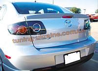 Спойлер (лип спойлер) для Mazda 3 2003-2009 седан