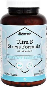 Витамины группы В + С  Vitacost Synergy Ultra B Stress Formula -240 капс