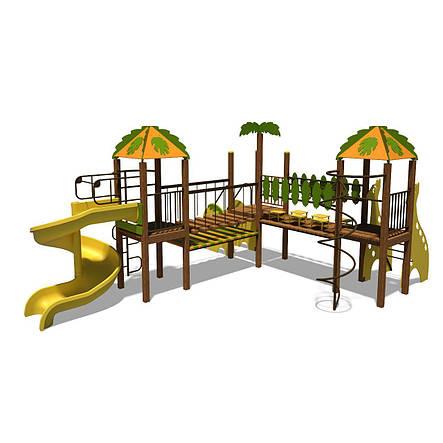 """Детский игровой комплекс """"Джунгли-2"""", фото 2"""