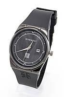 Женские наручные часы Givenchy (Живанши) чёрные с чёрным циферблатом