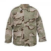 Рубашка (китель) армейская, камуфляж BDU 3-color-desert