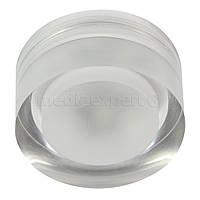 Светильник галогеновый CANDELLUX SAK-01 AL/TR LED 3W LED стекло акрил прозрачное