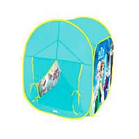 Палатка детская игроваяФроузен Frozen (Холодное сердце),Куб размер66-66-90 см, в сумке, М 3745