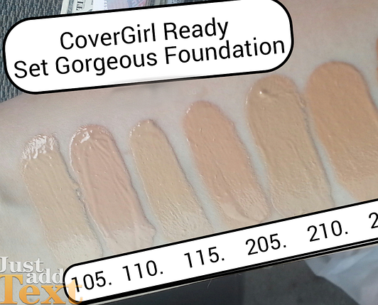 Тональный крем без масла COVERGIRL Ready, Set Gorgeous Liquid Makeup Foundation, фото 2