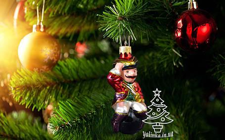 Стеклянная елочная игрушка Барон Мюнхаузен 0061, фото 2