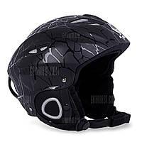 БЕНИЦЕ Открытый катание на лыжах Велоспорт шлем Чёрный