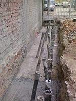 Укрепление фундаментов зданий