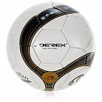 JOEREX JMS004 №5 сшитый вручную футбольный мяч из PU кожи Чёрный