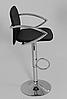 Стілець барний, стілець для візажиста, хокер (ЛЮКС білий), фото 4