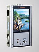 Газовая колонка Savanna 18 кВт 10 л LCD водопад проточный газовый водонагреватель
