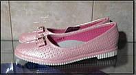 Балетки туфли подростковые на девочку 37р.