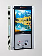 Газовая колонка Savanna 18 кВт 10 л LCD озеро проточный газовый водонагреватель