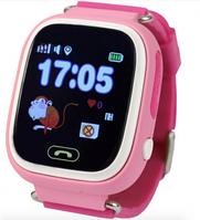 Детские умные часы с GPS трекером TD-02 (Q100) Pink