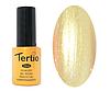 Гель лак Tertio 169, полупрозрачный перламутр золотистый, 10мл