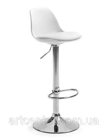 Стул белый барный, стул визажный, хокер (ТАУ Н белый)