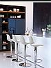 Стул белый барный, стул визажный, хокер (ТАУ Н белый), фото 4