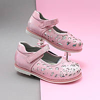Розовые туфли для девочки Tom.m размер 21,22,23,24,25,26