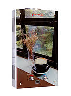 Газовая колонка Savanna 18 кВт 10 л LCD кофе проточный газовый водонагреватель