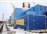 Промышленное строительство зданий