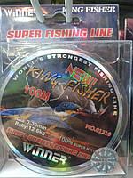 Леска WINNER SUPER KING FISHER LINE 0.18 mm 100 м (оригинал)