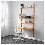 IKEA SVALNAS Пристенный стол, бамбук  (091.844.48), фото 2