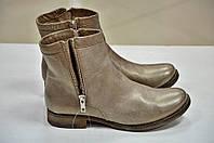 Ботинки светло коричневые с напылением Khrio к.422