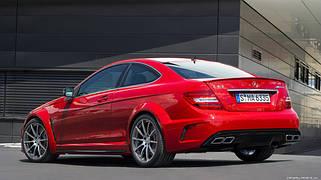 Внешний тюнинг Mercedes C204 Coupe