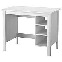 IKEA BRUSALI Рабочий стол, белый  (703.023.01)