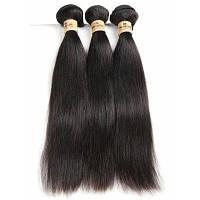 Прямые пряди для бразильского наращивания волос 28дюймов