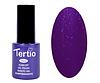 Гель лак Tertio 176, темно фиолетовый с блестками, 10мл