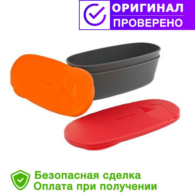 Туристическая посуда SnapBox oval 2-pack Red/Orange (40418613)