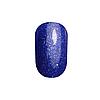 Гель лак Tertio 181, синий с блестками, 10мл, фото 2