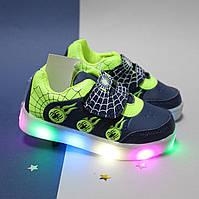 Детские кроссовки мигалки Tom.m для мальчика (Том.м) размер 21