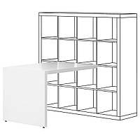 IKEA KALLAX Рабочий стол, белый  (303.082.20)