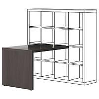 IKEA KALLAX Рабочий стол, черно-коричневый  (003.082.26)