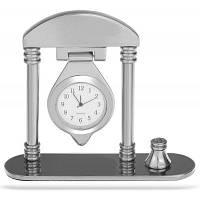 Уникальные Настенные Часы Формы Кварцевые Часы Подарок Мебель Серебристый
