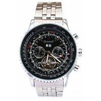 Gucamel GC034 Мужские автоматические механические часы функция даты дня светящийся указатель браслет из нержавеющей стали наручные часы Стальной