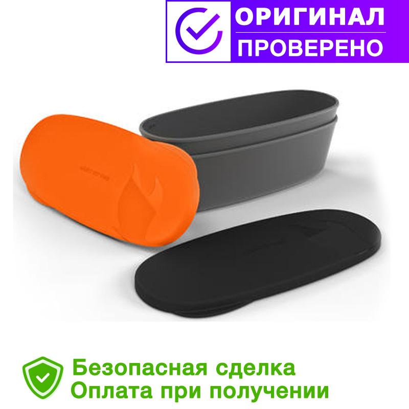 Туристична посуд SnapBox oval 2-pack Orange/Blk (40418913)
