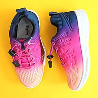 Детские кроссовки с эффектом градиент для девочки Tom.m размер 32,33,34,35,37 размер 35 - 21,5см