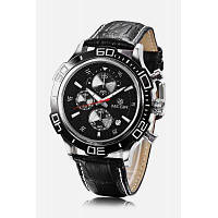 MEGIR ML2019 Кварцевые часы для мужчины Чёрный