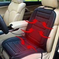 12V Чехол для автомобильного сидения с подогревом Чёрный