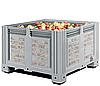 Пластиковые контейнеры 1130 х 1130 х 760