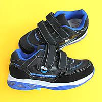Детские кроссовки с подсветкой для детей BI&KI размер 27,28,29,30,31,32 размер 29 - 19,3см