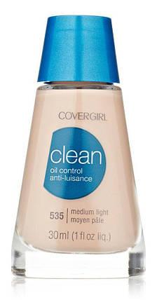Тональный крем для жирной кожи CoverGirl Clean Oil Control Liquid Makeup, фото 2