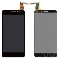 Дисплей для Alcatel One Touch Idol 6040/6040A/6040X + touchscreen black orig (Бесплатная доставка до дверей)