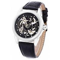 SW056 SEWOR мужские механические ручные часы серебристый и черный