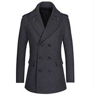 Мужское теплое пальто. Модель 61787, фото 1