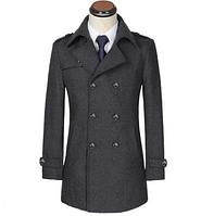 Мужское теплое пальто. Модель 61787, фото 2