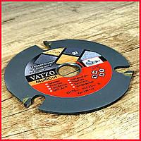 Пильный диск. 125х22х3. Vatzo MultiCut. Диск пильный на болгарку.